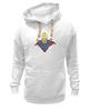 "Толстовка Wearcraft Premium унисекс ""Гомер Супермен"" - superman, симпсоны, the simpsons, gomer simpson, гомер супермен"