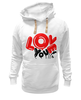 "Толстовка Wearcraft Premium унисекс ""I love you"" - i love, love is"