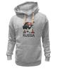 "Толстовка Wearcraft Premium унисекс ""Россия (Russia)"" - москва, moscow, русский, россия, russian"
