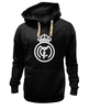 "Толстовка Wearcraft Premium унисекс ""Real Madrid (Реал Мадрид)"" - футбол, football, real madrid, реал мадрид"