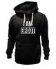 """Толстовка Wearcraft Premium унисекс """"Stereo Groot"""" - я, комиксы, 3d, marvel, i am, 3д, марвел, стерео, стражи галактики, грут"""