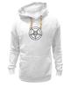 """Толстовка Wearcraft Premium унисекс """"Печать Бафомета #1"""" - satan, демон, demon, сатана"""