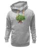 "Толстовка Wearcraft Premium унисекс ""iCalistini The Love Tree Дерево Любви"" - счастье, дерево счастья, дерево любви"