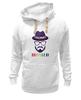 "Толстовка Wearcraft Premium унисекс ""хипстер"" - style, очки, hat, шляпа, усы, hipster, shades, mustache"