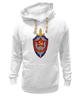 "Толстовка Wearcraft Premium унисекс ""КГБ "" - щит и меч, звезда, кгб, ссср, эмблемма"