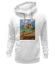 """Толстовка Wearcraft Premium унисекс """"ретро плакат"""" - ретро, америка, природа, горы, плакат"""