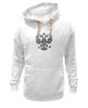 """Толстовка Wearcraft Premium унисекс """"Россия герб"""" - россия, родина, горжусь, достижения, вперёд"""