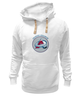 "Толстовка Wearcraft Premium унисекс ""Colorado Avalanche"" - хоккей, nhl, нхл, колорадо эвеланш, colorado avalanche"
