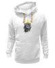 """Толстовка Wearcraft Premium унисекс """"Король Лев"""" - животные, корона, лев, царь зверей"""
