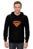"""Толстовка Wearcraft Premium унисекс """"Супермен"""" - comics, комикс, superman, супергерой, dc, superhero"""