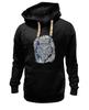 """Толстовка Wearcraft Premium унисекс """"Doodle Owl"""" - арт, стиль, птица, рисунок, птицы, графика, сова, филин, owl, doodles"""