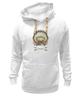 """Толстовка Wearcraft Premium унисекс """"Мопс - индеец"""" - pug, индеец, перья, стрелы, мопс"""