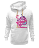 "Толстовка Wearcraft Premium унисекс ""My Little Pony: Friendship is Magic Logo"" - rainbow dash, my little pony, applejack, rarity, friendship is magic, fluttershy, twilight sparkle, pinkie pie"