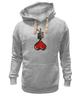 """Толстовка Wearcraft Premium унисекс """"Love Noose"""" - сердце, любовь, heart, петля, noose"""