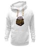 """Толстовка Wearcraft Premium унисекс """"Russian Bear (Русский медведь)"""" - bear, медведь, россия, russia, путин"""