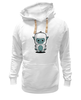 """Толстовка Wearcraft Premium унисекс """"Снежный человек (Йети)"""" - йети, снежный человек, yeti, сасквоч, бигфут"""