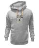 """Толстовка Wearcraft Premium унисекс """"хаски"""" - собака, иллюстрация, хаски, акварель, husky"""