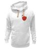 """Толстовка Wearcraft Premium унисекс """"любовь война"""" - heart"""