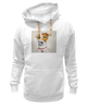 "Толстовка Wearcraft Premium унисекс ""Jack russell"" - dog, терьер, best friend, jack russell terrier, джек-рассел-терьер"