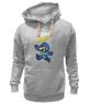 "Толстовка Wearcraft Premium унисекс ""Super Mario (Mega Man)"" - nintendo, марио, mario bros"