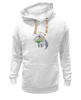 """Толстовка Wearcraft Premium унисекс """"Праздничный муравьед"""" - цветы, животные, 8 марта, маме, муравьед"""