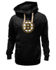 "Толстовка Wearcraft Premium унисекс ""Boston Bruins"" - хоккей, nhl, нхл, boston bruins, бостон брюинз"