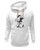 "Толстовка Wearcraft Premium унисекс ""Ma little banksy"" - арт, граффити, pony, mlp, banksy, graffiti, street art, бэнкси"