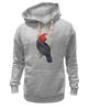 """Толстовка Wearcraft Premium унисекс """"Попугайчик"""" - арт, дизайн, птицы, природа, попугай"""