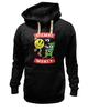 "Толстовка Wearcraft Premium унисекс ""Pacman x Money"" - деньги, pacman, money, мэнни пакьяо"