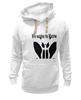 """Толстовка Wearcraft Premium унисекс """"Watchmen - Rorschach"""" - comics, черно-белая, комиксы, кино, cinema, черное и белое, rorschach, хранители, супергерои, socium"""
