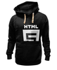 "Толстовка Wearcraft Premium унисекс ""dark html5"" - html5"