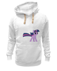 """Толстовка Wearcraft Premium унисекс """"Love & Tolerate"""" - pony, mlp, my little pony, twilight sparkle"""