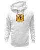 "Толстовка Wearcraft Premium унисекс ""Rockstar Games"" - grand theft auto, gta, rockstar, гта, рокстар, rockstar games"