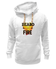 "Толстовка Wearcraft Premium унисекс ""Beard Like Fire"" - борода, beard, бородачи, borodachi, beard in city"