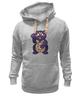 "Толстовка Wearcraft Premium унисекс ""Манэки-Нэко (Кот Счастья)"" - cat, кот счастья, манэки-нэко"