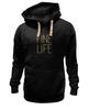 """Толстовка Wearcraft Premium унисекс """"Fine life"""" - любовь, life, огонь, fire, спички"""