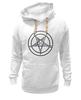 """Толстовка Wearcraft Premium унисекс """"Печать Бафомета #1"""" - дьявол, satan, сатана, devil"""