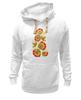 "Толстовка Wearcraft Premium унисекс ""Хохлома"" - арт, цветы, хохлома"