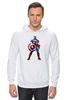 "Толстовка Wearcraft Premium унисекс ""Капитан Америка / Captain America"" - рисунок, капитан америка, captain america, knoart"