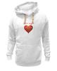 "Толстовка Wearcraft Premium унисекс ""Ман туро"" - любовь, арт, сердечка, ман туро"