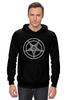 """Толстовка Wearcraft Premium унисекс """"Печать Бафомета #2"""" - дьявол, satan, сатана, devil, посотоне"""