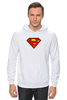 "Толстовка Wearcraft Premium унисекс ""superman"" - супермен, superman, dc"