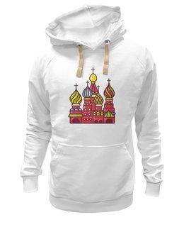 "Толстовка Wearcraft Premium унисекс ""Москва"" - люблюмоскву"