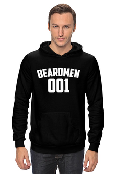 "Толстовка Wearcraft Premium унисекс ""BEARDMEN 001"" - борода, beard, бородачи, отпускаем бороду, borodachi, beard in city, beardmen"