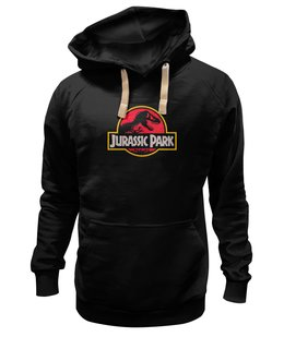 """Толстовка Wearcraft Premium унисекс """"Jurassic Park / Парк Юрского Периода"""" - динозавры, афиша, парк юрского периода, jurassic park, kinoart"""