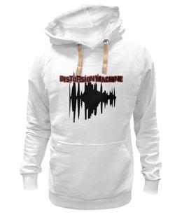 """Толстовка Wearcraft Premium унисекс """"Distorsion Machine"""" - музыкальный магазин, звук, стиль"""