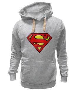 """Толстовка Wearcraft Premium унисекс """"Superman"""" - популярные, оригинально, супергерои"""