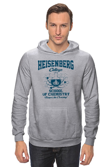 "Толстовка ""Heisenberg college"" - во все тяжкие, химия, breaking bad, heisenberg, хайзенберг"