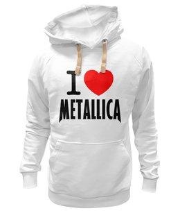 """Толстовка Wearcraft Premium унисекс """"«I love Metallica»"""" - metallica, металлика, i love metallica"""