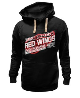 "Толстовка Wearcraft Premium унисекс ""Detroit Red Wings"" - спорт, хоккей, nhl, детройт, detroit red wings"